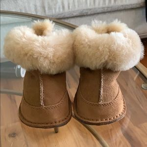 Brand new UGG lamb fur boots
